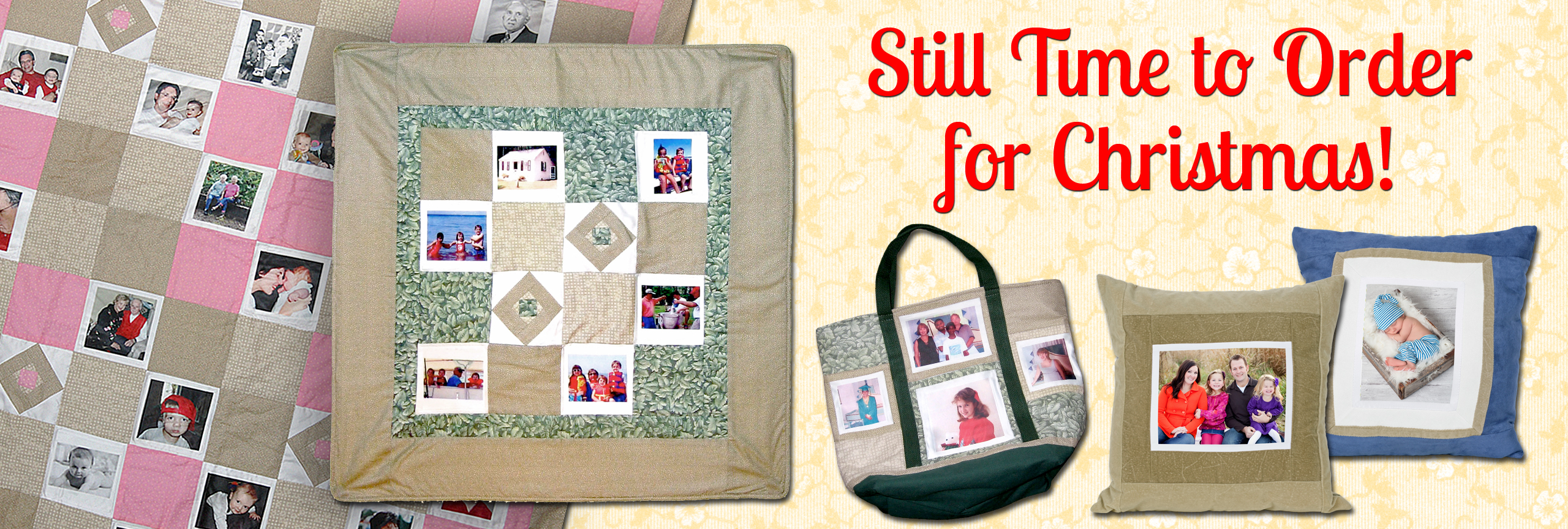 Photo Quilts for Christmas
